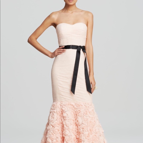 JS Collections Dresses & Skirts - JS Strapless Rossette Gown